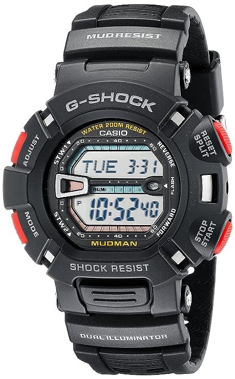 5f15258021bc0 Casio Men s G9000-1V G-Shock Mudman Digital Sports Watch  Casio ...