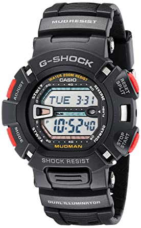 b47633f535d Amazon.com: Casio Men's G-Shock G9000-1 Black Resin Sport Watch ...