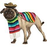 Mexican Poncho/Sombrero Pet Costume