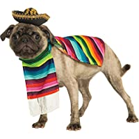 Rubies Costume Co Halloween Classics Collection Pet Costume, Large, Mexican Serape