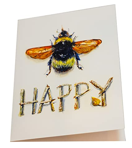 Amazon pamela gillette blank notegreeting cards pack of 5 pamela gillette blank notegreeting cards pack of 5 bee happy m4hsunfo