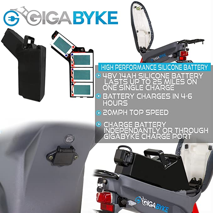Amazon.com: gigabyke Groove 48 V 750 W Eco-friendly Electric ...