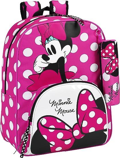 Design Paillet/é Unique Mini Sac pour Enfants Sac /à Main Avec Poign/ée Sur Le Dessus Et Bandouli/ère Cadeau pour Filles! Disney Minnie Mouse Sac /à Bandouli/ère pour Filles