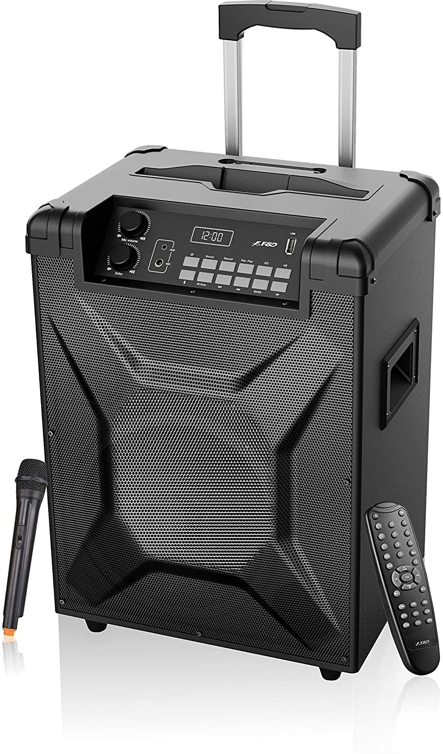 F&D T2 Trolley Speaker with Bluetooth (Black)