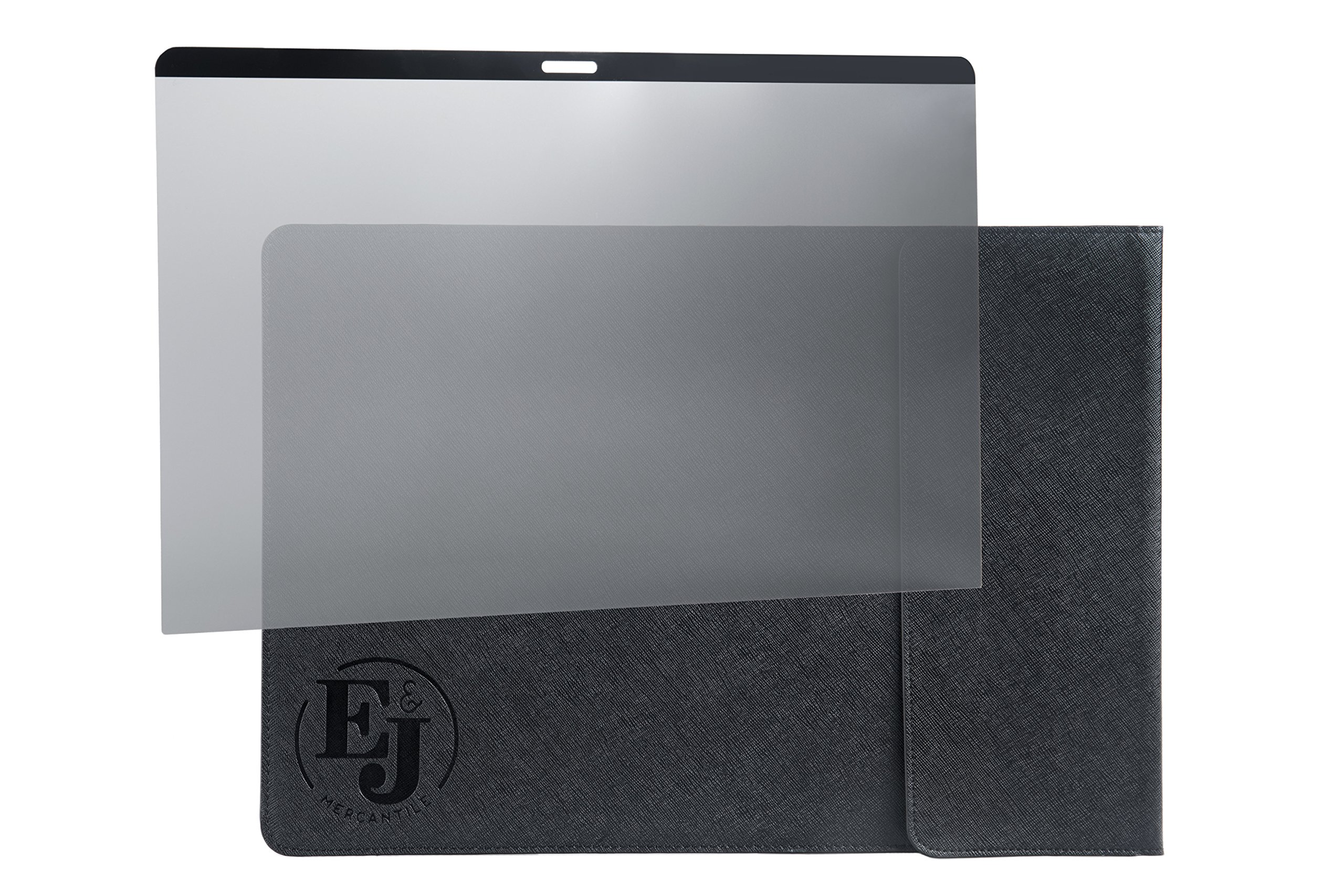 E&J MAGNETIC Privacy Screen - Compatible with MacBook Pro 13 inch Touch Bar ONLY - BONUS Leather Sleeve