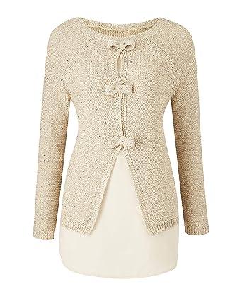 Womens Glitter Knit Cardigan JD Williams