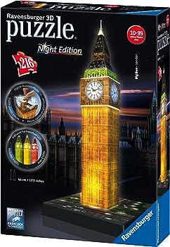 Ravensburger Big Ben Night Edition 3D Puzzle
