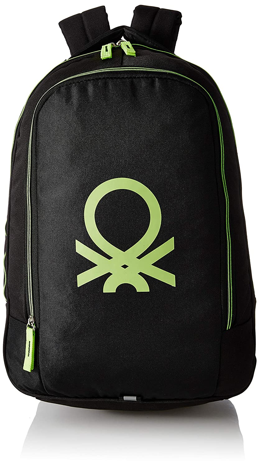 United Colors of Benetton 30 Ltrs Green Casual Backpack (0IP6ECOBPBL1I)