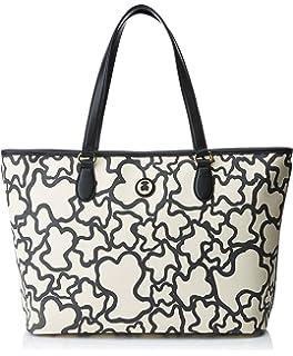 City Kaos, Womens Cross-Body Bag, Varios colores (Arena/Negro), 13.5x25x33.5 cm (W x H L) Tous