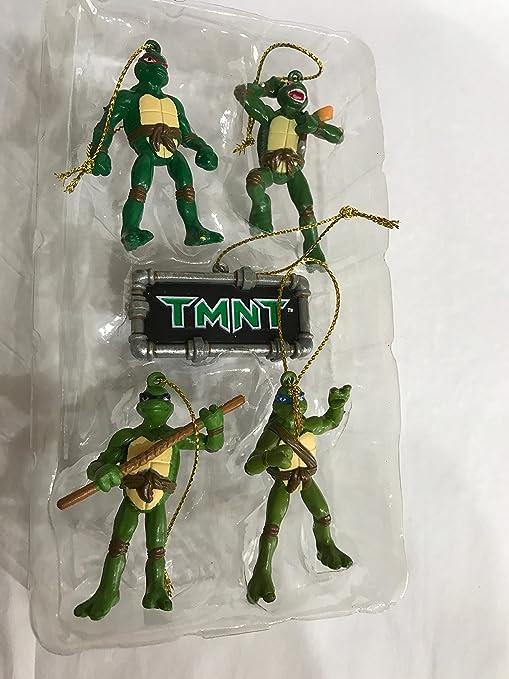 Amazon.com: Teenage Mutant Ninja Turtles Navidad Ornamento ...