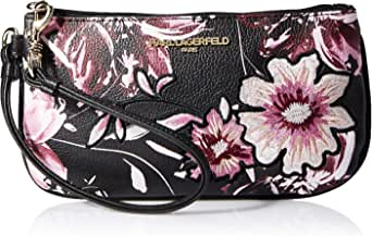 Karl Lagerfeld Paris womens Hermine Small Wristlet