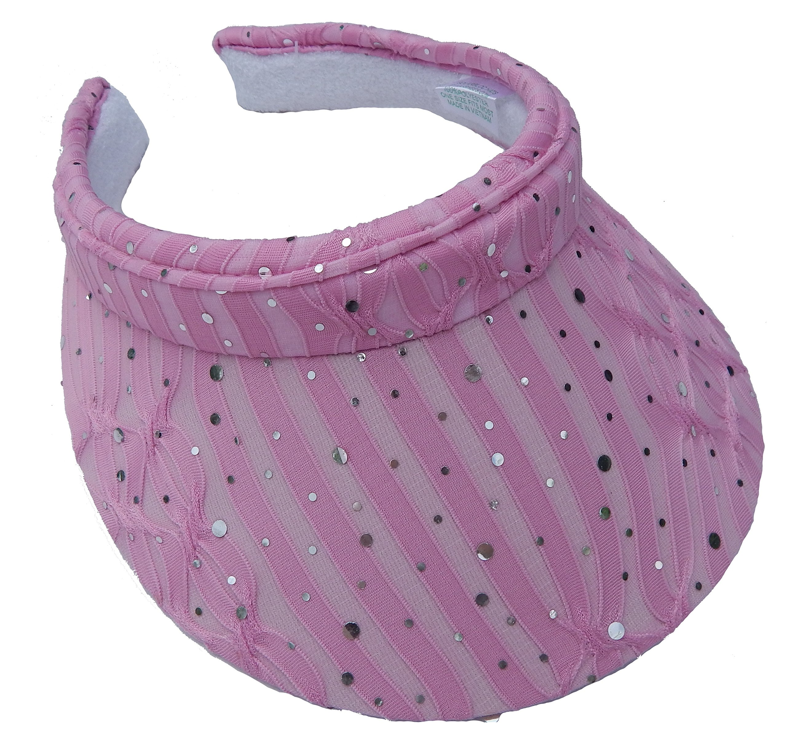 Cushees Sparkle Clip-on Visor (Pink) 634