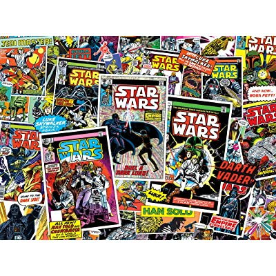 Star Wars - Classic Comic Books - 1000 Piece Jigsaw Puzzle