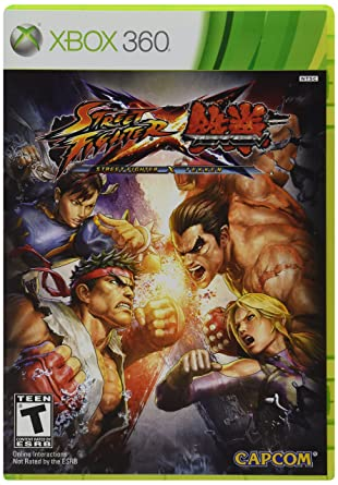 Amazon Com Street Fighter X Tekken Xbox 360 Video Games