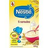 Nestlé - 5 Cereales - Papilla de Cereales Instantánea - 600 g