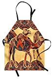 Lunarable Tribal Apron, African Camel Animals with