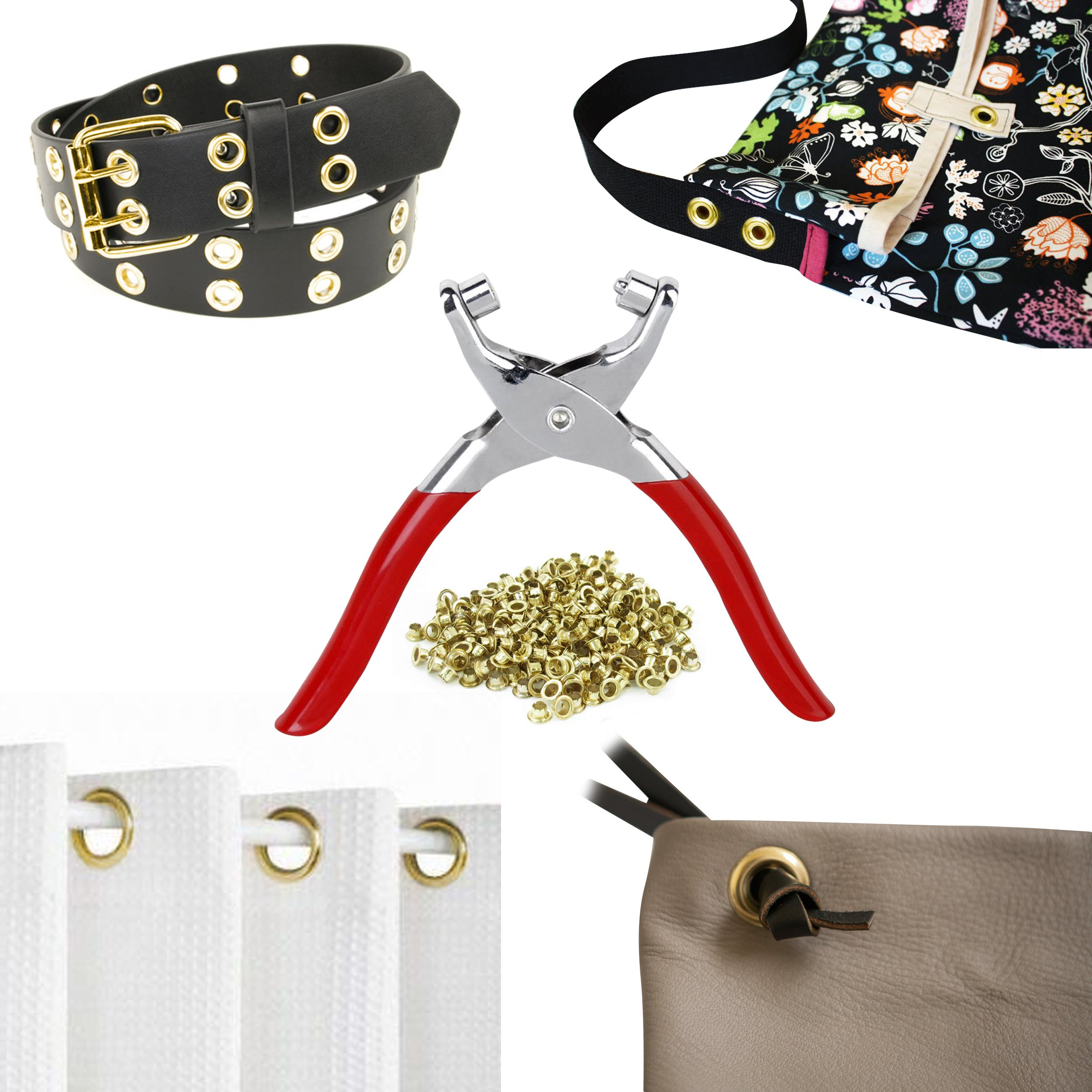CraftEase Eyelet Grommet Kit Pliers for Fabric and Leather