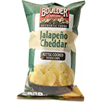 Boulder Canyon Jalapeno Cheddar Kettle Cooked Potato Chips 142 g, 142 g