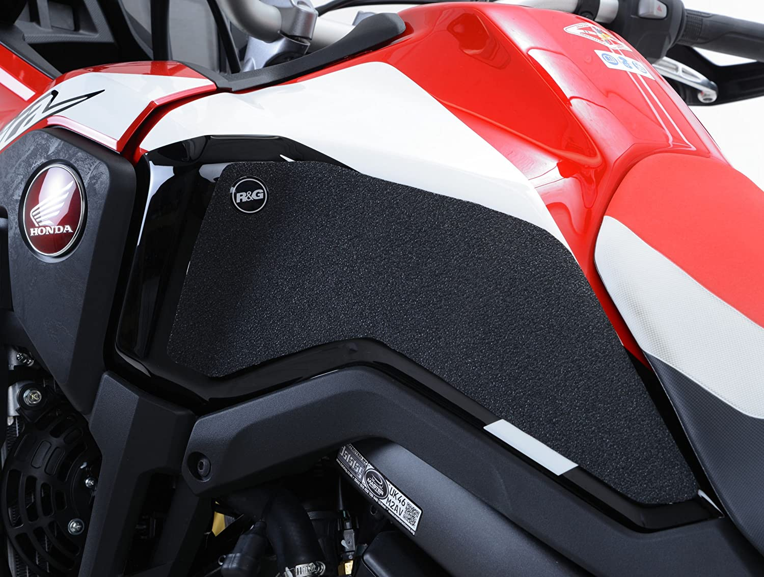 R/&G Tank Traction Grips For Honda Africa Twin CRF1000L 16-17 Clear 2-Piece Kit