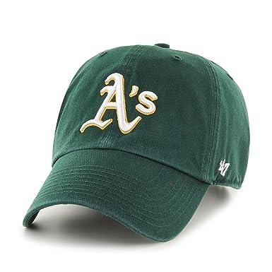 d60ad3d67b1e6  47 Gorra de béisbol Clean Up Oakland Athletics Brand - Verde - Ajustable