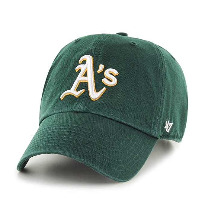 47 Gorra de béisbol Clean Up Oakland Athletics Brand - Verde - Ajustable 4d82634cf40