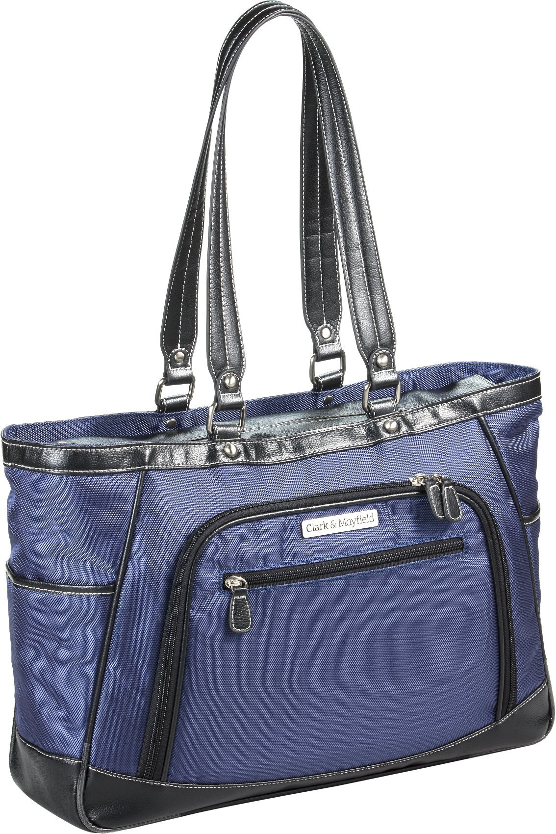 Clark & Mayfield Sellwood Metro XL 17.3'' Laptop Tote Navy