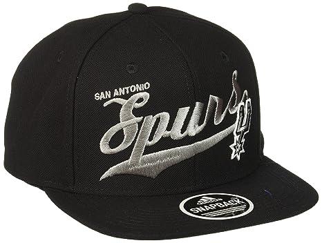 NBA San Antonio Spurs Women s Flashy Sequinced Wordmark Structured  Adjustable Hat 6ba75f2f5b