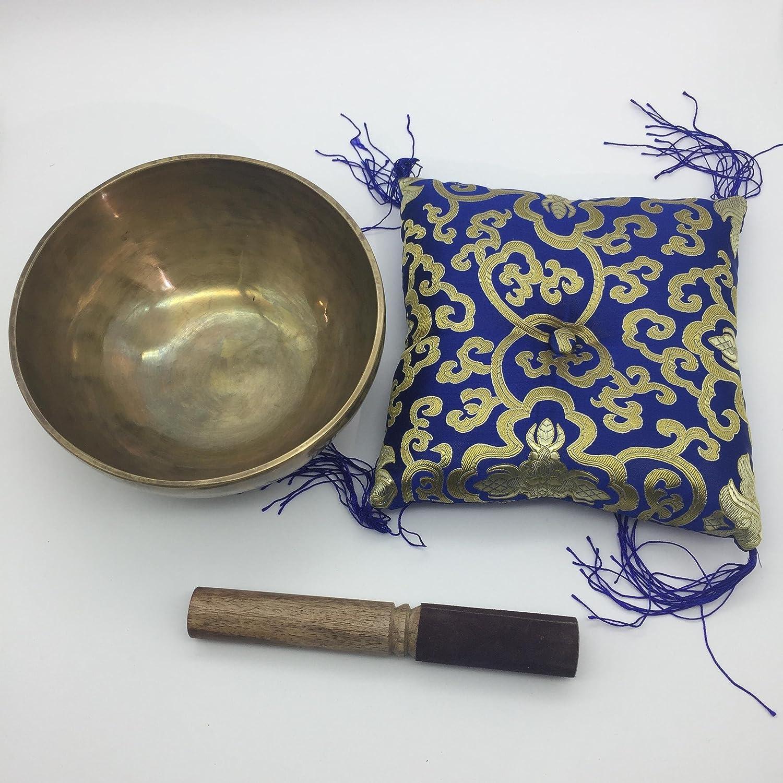 hand beaten by Nepali artisans to make magical tones by Shambhala Arts /& Handcrafts 7 handmade Himalayan singing bowl