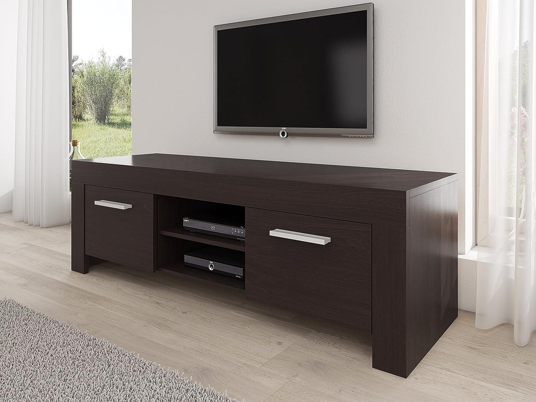 Meuble Tv Armoire Support Rome Weng 160 Cm Amazon Fr Cuisine  # Meuble Tv Couleur Wenge