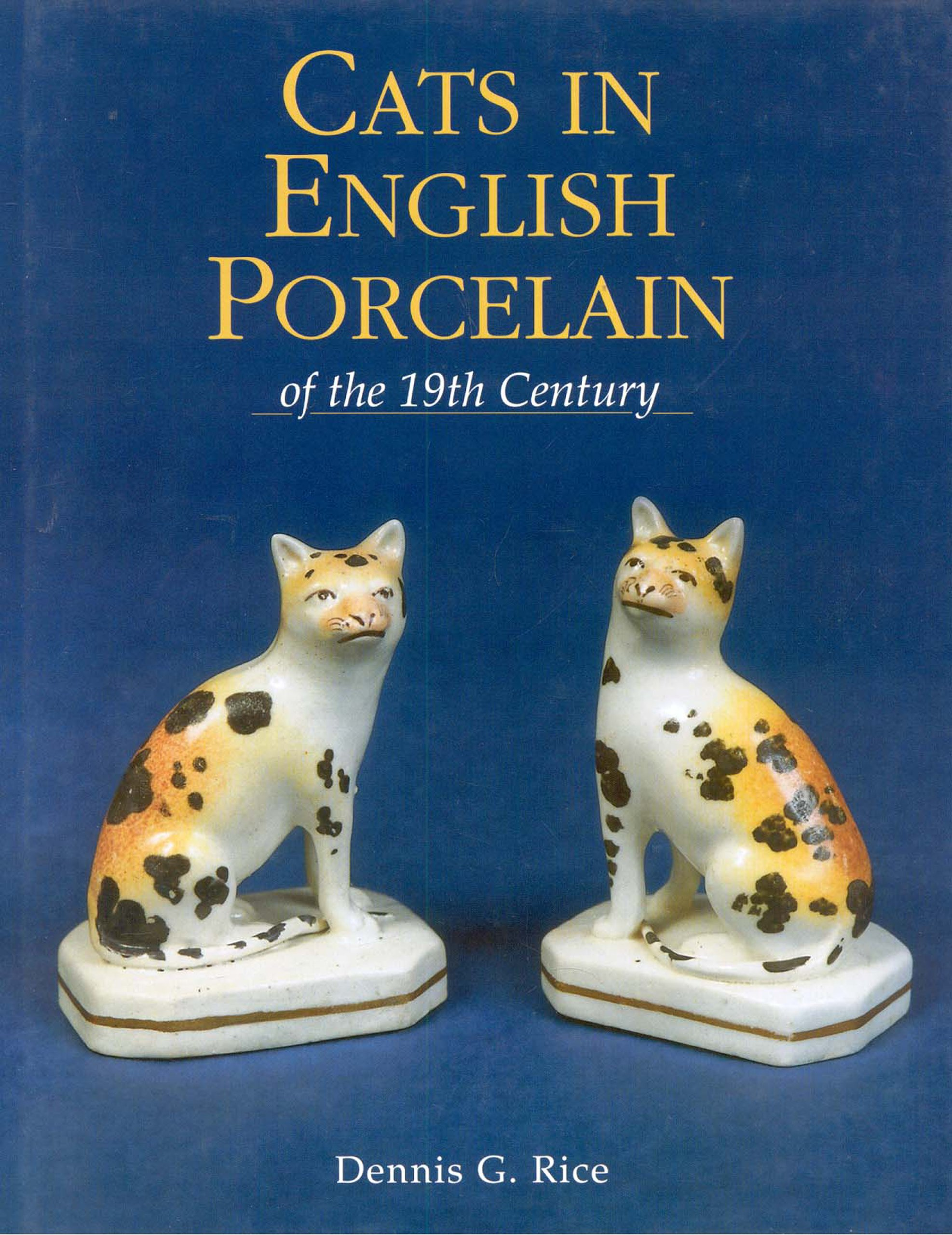 Cats in English Porcelain of the 19th Century