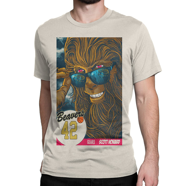 708e598ec Amazon.com: Teen Wolf Movie shirt Michael J Fox: Clothing