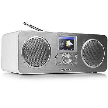 AudioAffairs IR 010 Radio por Internet (Dab, Radio Digital con Despertador y batería,