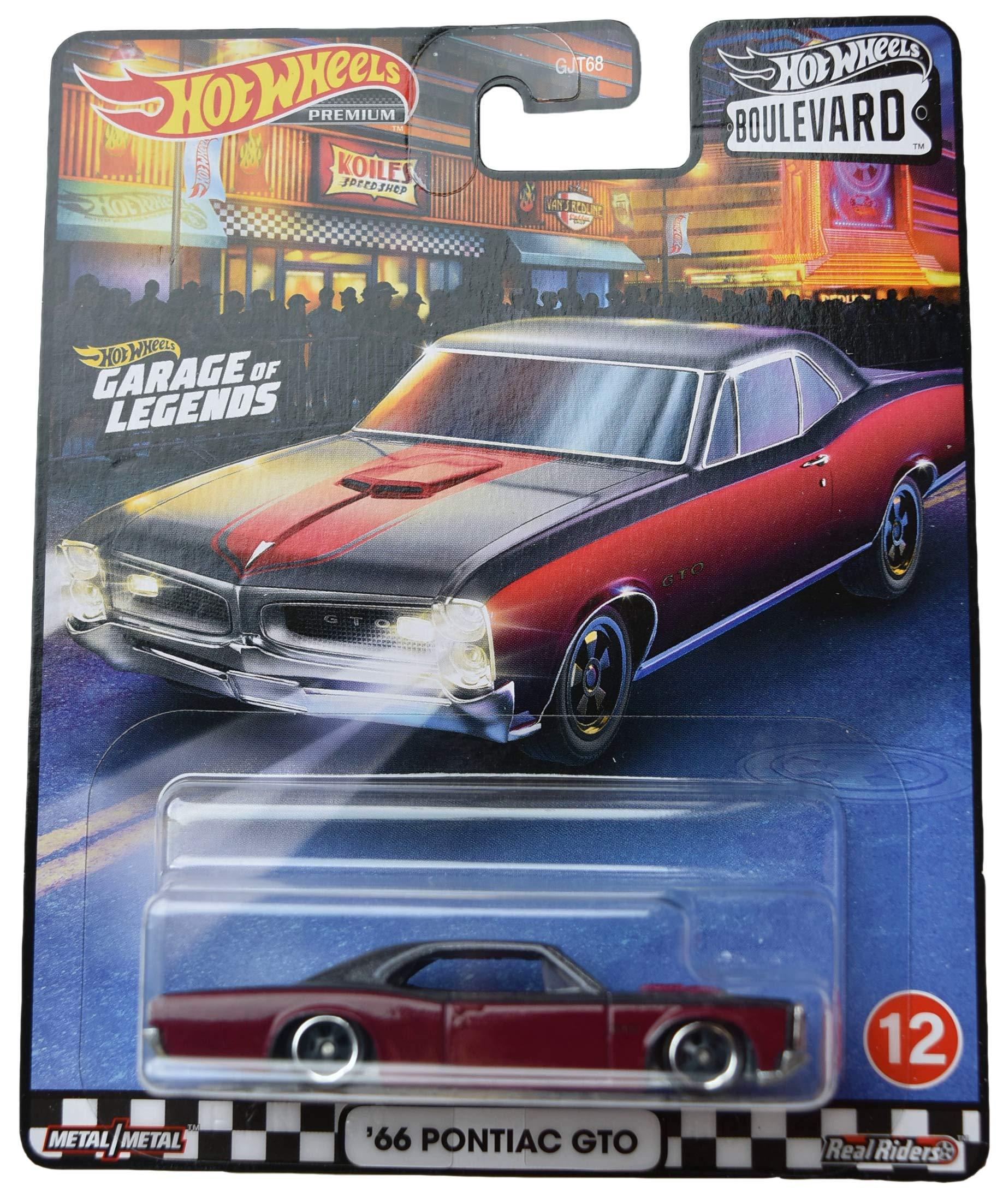 Mattel Hot Wheels Boulevard '66 Pontiac GTO, red/Gray top