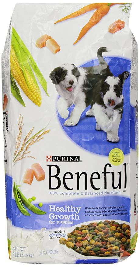 Amazoncom Beneful Dry Dog Food Healthy Growth For Puppies 7