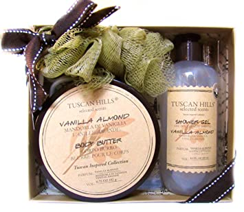Health & Beauty Piece Body Butter Gift Set Bath & Body Nice Tuscan Hills Body Care Collection 3