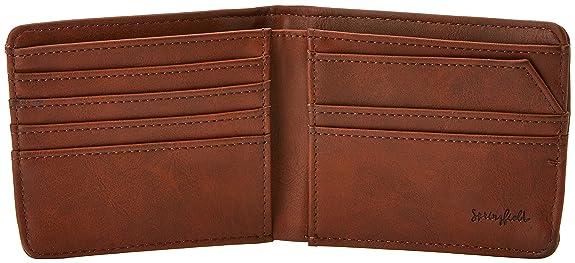 Springfield Cartera Bolsa y Cartera, Hombre, Marron (Marron Oscuro): Amazon.es: Zapatos y complementos