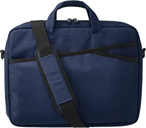 AmazonBasics Business Laptop Case Bag - 15-Inch, Navy