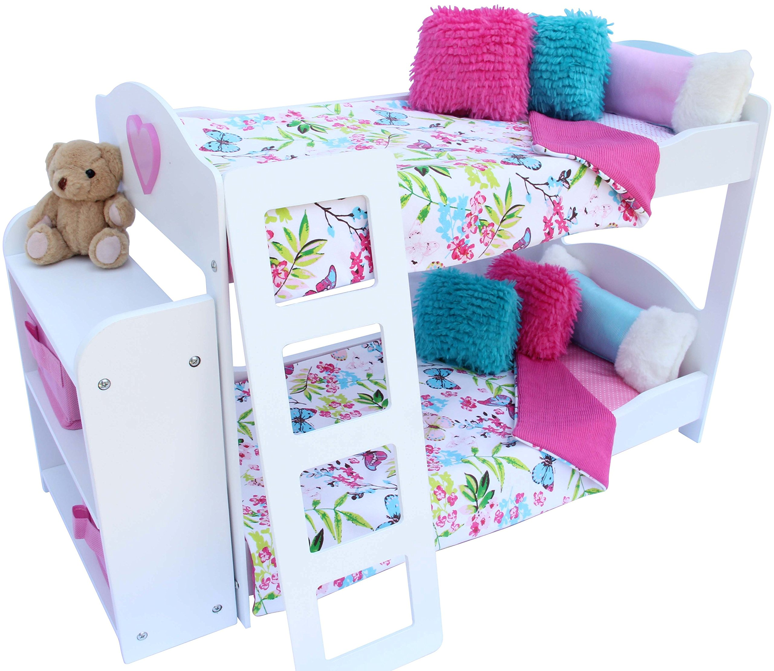 American Girl Doll Bedroom: PZAS Toys Bedroom Set For 18-Inch American Girl Doll, 20