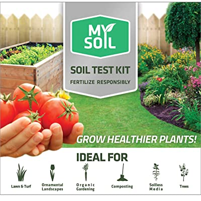 MySoil-Soil Test Kit | Grow The Best Lawn and Garden | Know Exactly What Your Soil and Plants Need | Provides Complete Nutrient Analysis and Recommendations Tailored to Your Soil : Garden & Outdoor