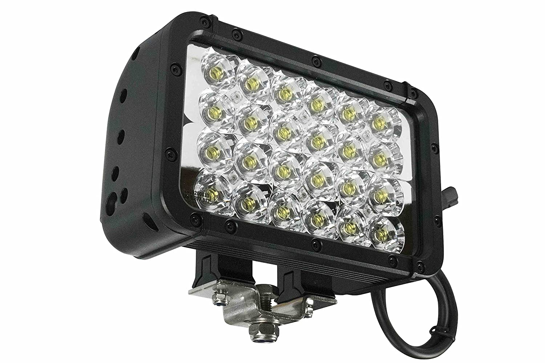 LED赤外線エミッタライト – 24 LED – 72ワット – 900 ' l X 100 ' w梁 – 9 – 42 volts850 / 940nm ( -flood-940nm-black )  B00AKNS2BG