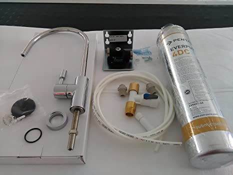 Depuratore acqua everpure 4dc completo di kit installazione