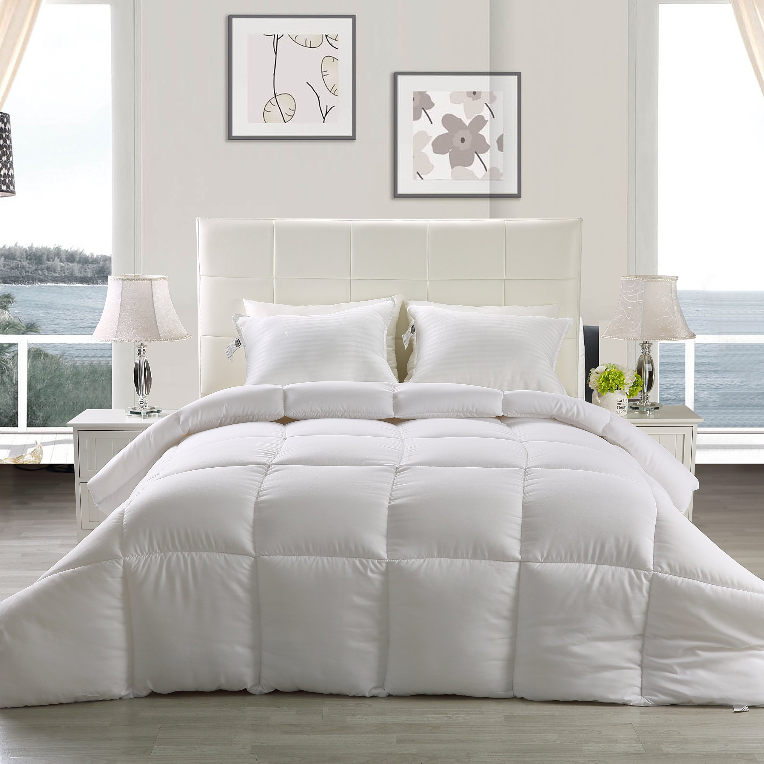luxury in a box products insert spring delight bed king and queen shams duvet