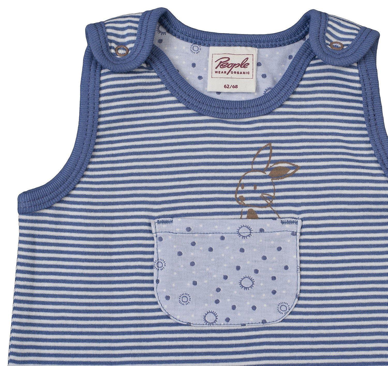 Baby u. Kinder Mütze grau bedruckt Bio Baumwolle People Wear Organic