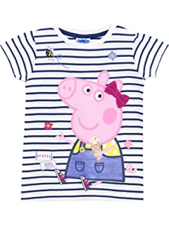 58dd60783 Peppa Pig Girls Unicorn T-Shirt Ages 12 Months to 8 Years: Amazon.co ...