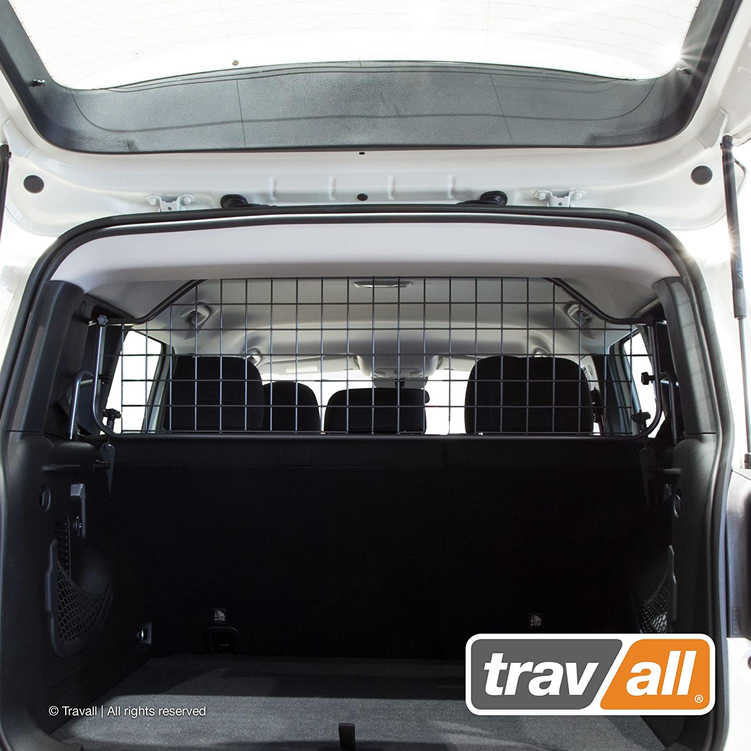 Travall Guard Compatible with Jeep Renegade Without Sunroof 2014-Current TDG1470 – Rattle-Free Steel Pet Barrier