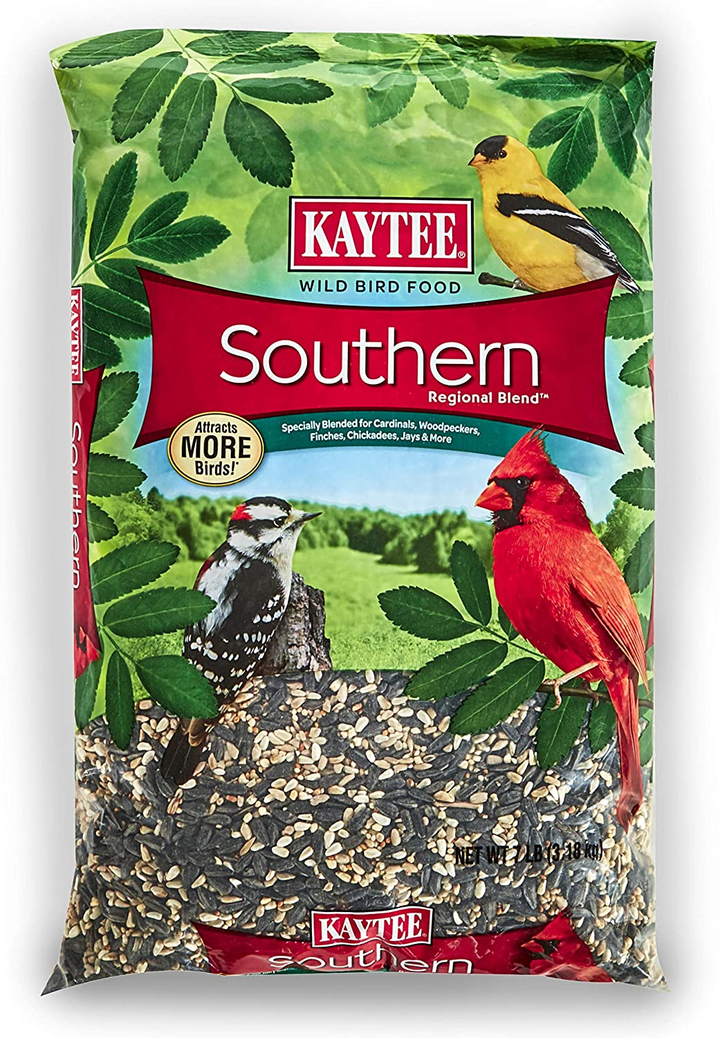 Kaytee Southern Regional Wild Bird Blend, 7-Pound Bag