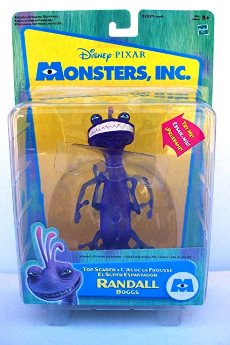 Amazon.com: Monsters Inc Top Scarer Randall Boggs Action figure by hasbro: Toys & Games