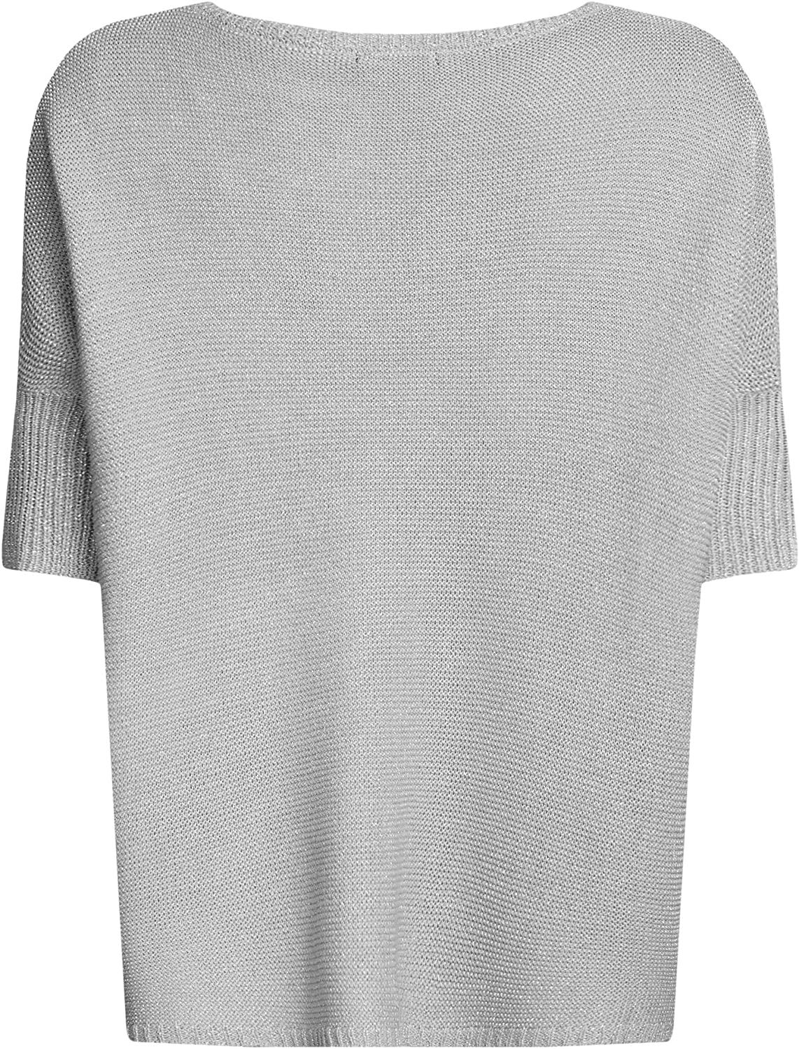 oodji Collection Mujer Jersey Ancho con L/úrex