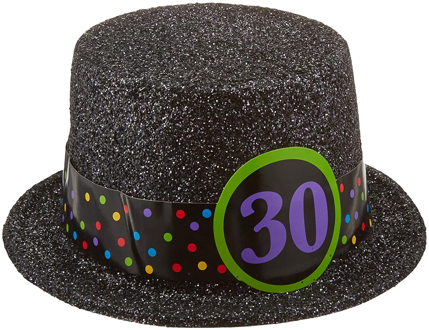 Amazon Amscan 30th Birthday Top Hat 12 Ct Toys Games