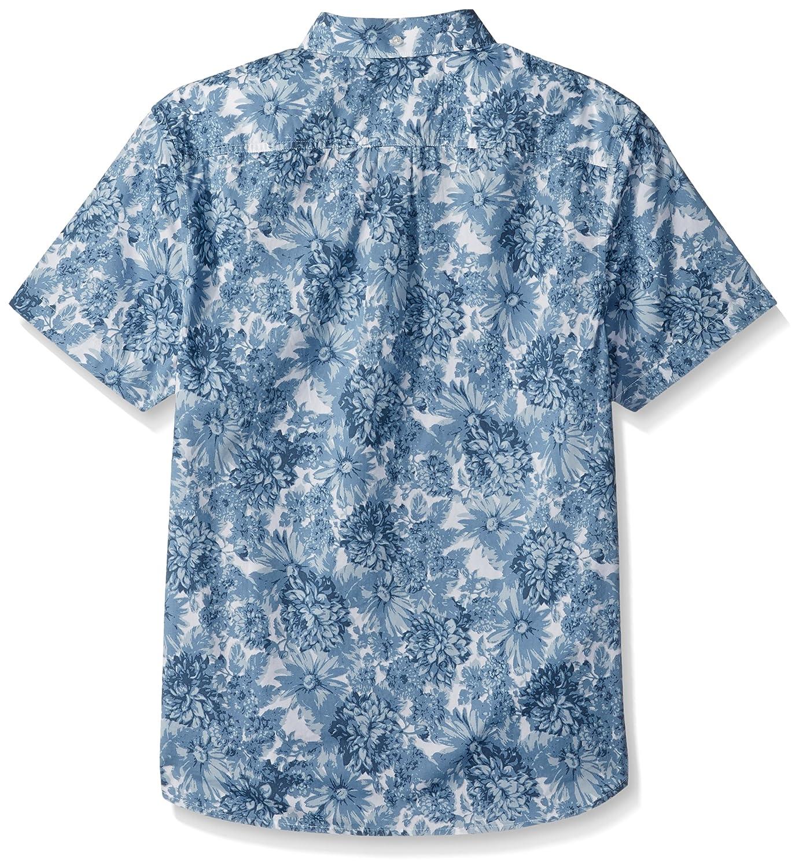 24010dde Amazon.com: Original Penguin Men's Short Sleeve Floral Shirt with Stretch:  Clothing